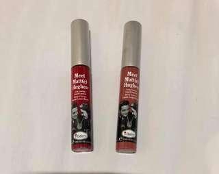 Meet Matt(e) Hughes lipstick
