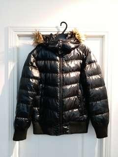 UNIQLO 有裝飾毛 厚身羽絨 Down Jacket
