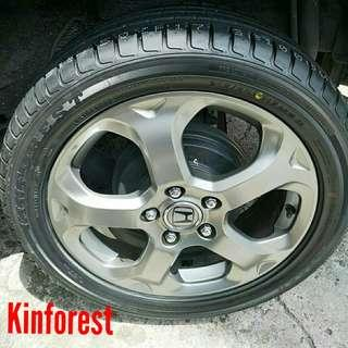 Tyre- Kinforest. Honda Stream 🙋‍♂️ R17 sizes from $90