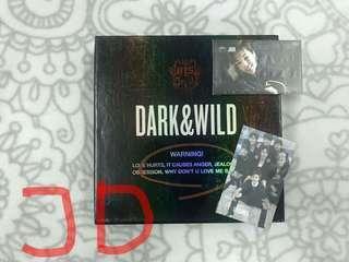BTS DARK & WILD ALBUM - JIMIN PC