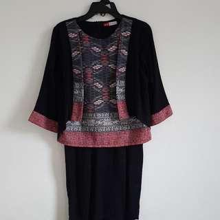 Dress Batik Black