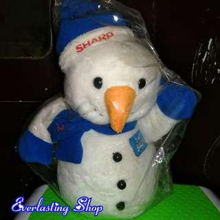 Boneka Salju Sharp Snowman Original Import Made In USA China Snow Man Doll Hadiah Unik Kado White Blue Patrik Lokal Good Quality