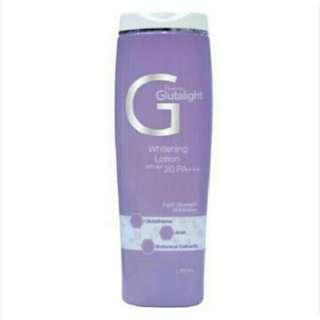 Glutalight Whitening Lotion with SPF 20 PA+++