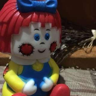台灣老物老膠娃兒/古董擺飾/收藏娃娃