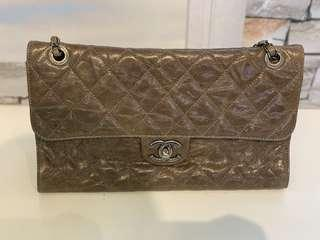 CHANEL Flap in Lizard Skin Large Size (Rue Cambon)