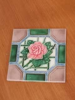 Vintage Peranakan tile