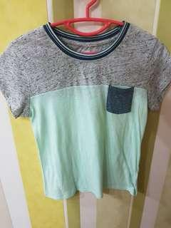 🚚 Aeropostale Blue Grey T-shirt top
