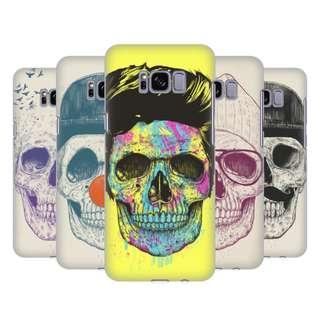 SAMSUNG PHONES OFFICIAL SKULLS HARD BACK CASE