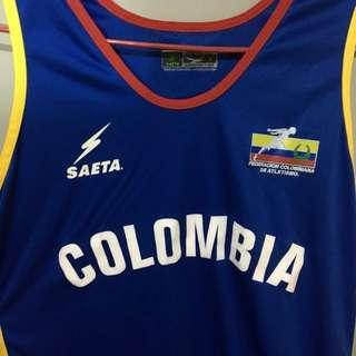 哥倫比亞國家隊背心