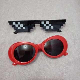 Kacamata kurt cobain alien