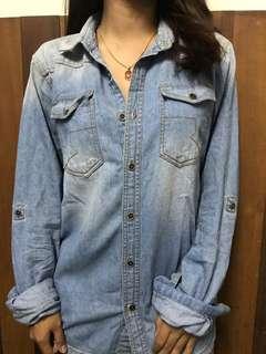 Kemeja Jeans ( UniSex)
