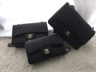 Chanel Chevron Handbag