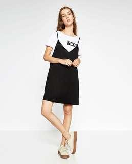 Zara TRF Slip On Dress