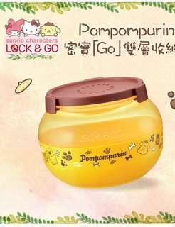 [7-11]pomppompurin收纳盒