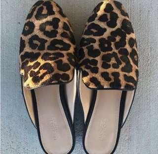 Michael Kors Mules Leopard