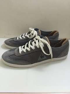 (正品)le coq sportif 公雞牌 休閒鞋(灰色男鞋)