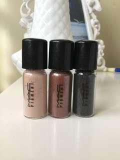 Mac pigments trio