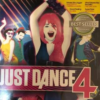 x3 CD Xbox 360 Kinect JUST DANCE collection, 2017 just dance, just dance 4, just dance 2014
