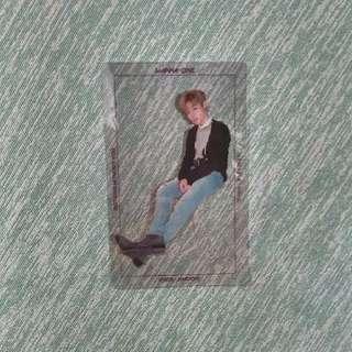 Photocard Wanna One Park Jihoon