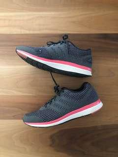 Adidas runners grey and pink