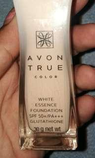 REPRICED! Avon True Color whitening Foundation SPF 50/PA+++ with glutathione