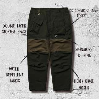 goopimade EX-T.4L MILITARY Pants 軍綠2號