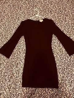 Wilfred dark purple dress