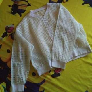 Top Running Jacket White
