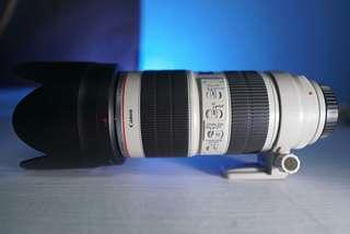 Lens Canon 70-200 f2.8 is II