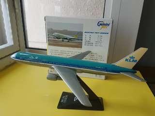 B767 -200 KLM airplane model