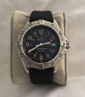 Full set 1996 Breitling Superocean with original receipt
