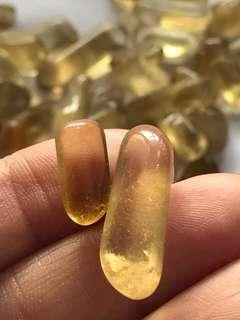 Natural unheated citrine tiny tumbled [Secret Crystal Singapore Crystal Shop]
