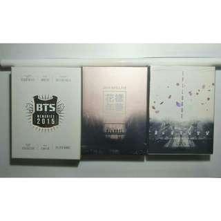 [CLEARANCE] BTS Official Unsealed DVDs