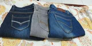 Mix jeans pants