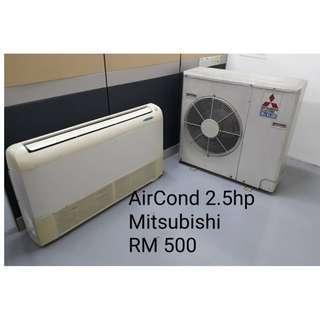 Aircond Mitsubishi 2.5 hp