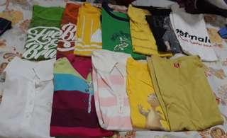 Mix T-shirt and blouse