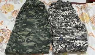 Mix army pants