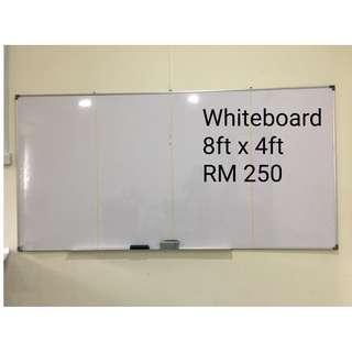 Whiteboard (8ft x x4ft) - Big Size !