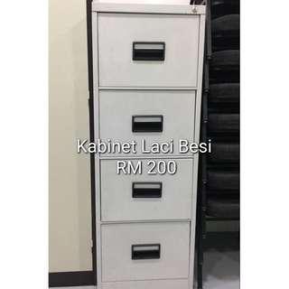Kabinet Pejabat (Laci Besi) - Steel Cabinet (Drawer)