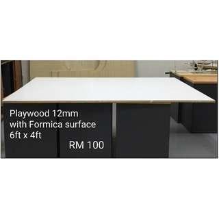 Playwood / Plywood (12mm) 6ft x 4ft - 3 units left
