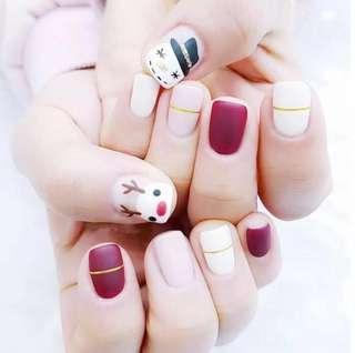 50% classic gel manicure and pedicure