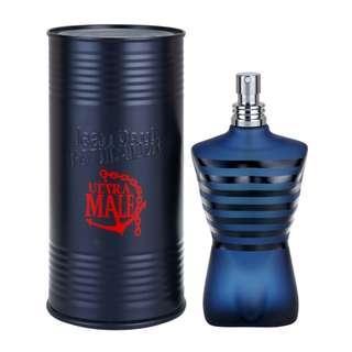 Jean Paul Gaultier Ultra Male 125ml EDT Intense Sexy Perfume