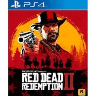 Red Dead Redemption 2 PS4 Brand New but unwrapped (bought ps4 instead of xbox wrongly)