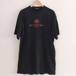 Balenciaga BB Mode Tee Black Tee S