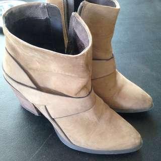 Aldo Suede Boots with Heels