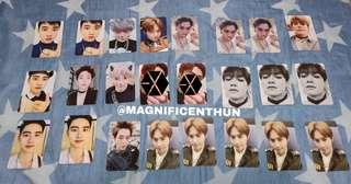 [WTT/WTS] EXO DON'T MESS UP MY TEMPO ALBUM/PHOTOCARD/POSTCARD/POSTERS