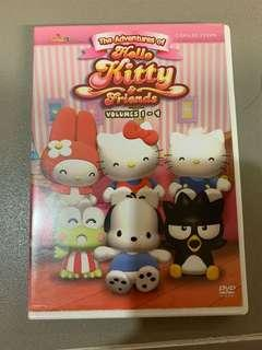 Hello Kitty & Friends DVD Volume 1-12