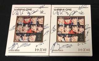 [QYOP] WannaOne Autographed 'Undivided' Album