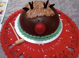 Christmas Pinata Chocolate Dome