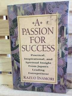 A Passion for Success by Kazuo Inamori